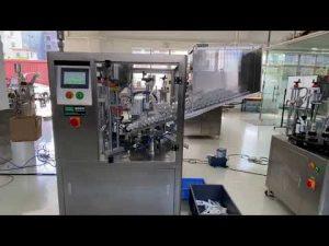 מכונת איטום צינורות פלסטיק אוטומטית למשחת שיניים בקרם ידיים