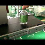 מכונת תיוג מדבקה שולחנית לבקבוקי מים מפלסטיק