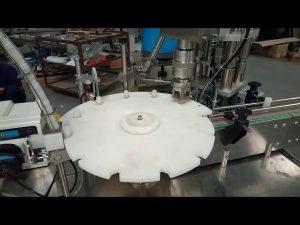 מכירת חמה אוטומטית מלאה 10 ml 20 ml 25 ml צינורות מבחן מילוי מכונת אריזת מכסה