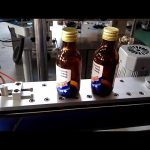 מכונת מדבקת דבק עצמי אוטומטית לתוויות בקבוקים עגולים