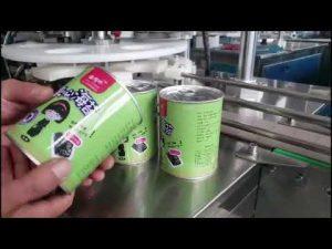 מכונת מילוי בקבוקים נוזלים קוסמטיים אוטומטיים מלאים עם קופר