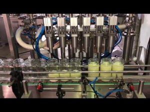 מכירות חמות אוטומטית מכונת מילוי שמן מאכל צמחי