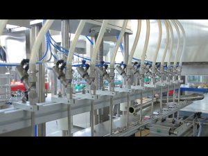 מכונת מילוי בקבוק אלכוהול לסבון ידני נוזל