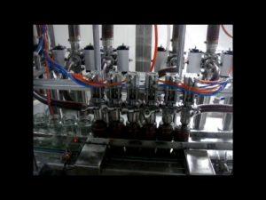 ליניארי אוטומטית 4 ראשים בקבוק בוכנה מכונת מילוי אריזה נוזלית קטשופ צמיג