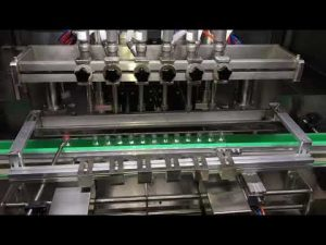 מכונת מילוי ג'ל אוטומטית לחיטוי אלכוהול לתעשייה כימית יומית