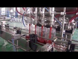 מכונת מילוי אריזת בקבוק שמן דקלים אוטומטית