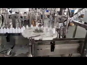 מכונת מילוי בקבוק פלסטיק רפואי לקוסמטיקה