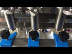 מחיר מלא מכונת מילוי בקבוק נוזל בוכנה אוטומטית