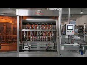 מכונת מילוי סרוו רוטב עגבניות מלאות