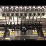 מכונת מילוי ליניארית קרם אלכוהולי נוזלי, מילוי שמן בקבוק קטן צנצנת דבש