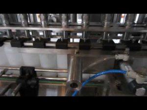 מכונת מילוי נוזל חיטוי אוטומטית ונוזל חיטוי
