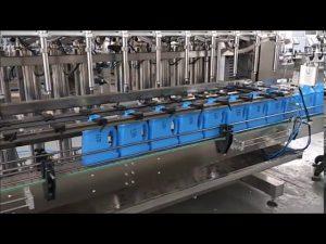 מכונה מילוי סבון נוזלית אוטומטית לחיטוי ידיים מכונת מילוי בקבוק בוכנה
