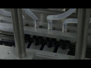 מכונת מילוי נוזלים מדויקת בשולחן עבודה אוטומטית 10 ml-5l 6 ראש