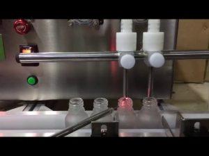 גודל מיני ספסל מכונה מילוי נוזל שמן אתרי בקבוקון אוטומטי אוטומטי למכירה