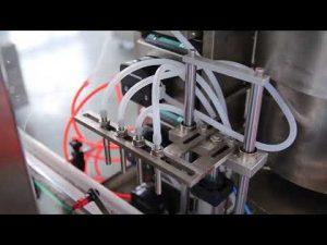 מכונת מילוי שמן מלא קנבוס בקבוק לק מלא אוטומטית למכירה