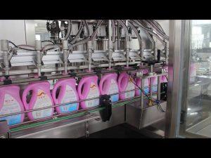 שמן מאכל אוטומטי, שמן זית, מכונת מילוי בקבוק שמפו בקבוק ניקוי