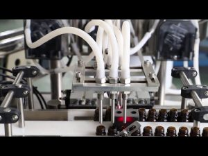 """מכונת מילוי והכסת שטיפה בשמן זית 120 מ""""ל"""