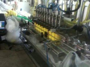מכונת מילוי שמפו עם חרירי צלילה אוטומטית