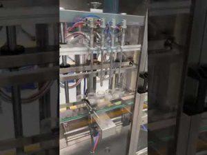מכונת מילוי בקבוק בושם אוטומטית, מכונת מילוי נוזלית עם מחיר