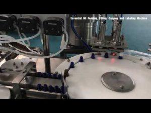 מכונת מילוי בושם לבקבוק זכוכית, מילוי קרמים קוסמטיים