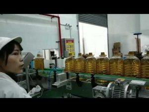 שימון משאבת מכונית הידראולית משאבת מכונית מכונה קו ייצור מילוי בקבוק שמן